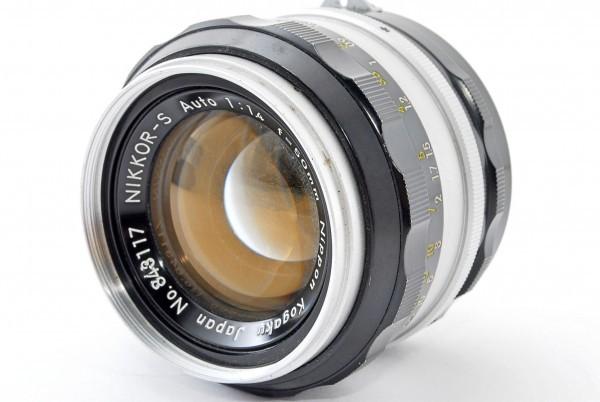 【ジャンク】 Nikon ニコン Nikkor S Auto 50mm F1.4 #348389