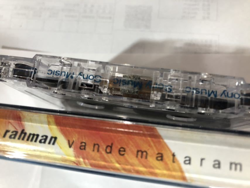 インド 音楽 カセットテープ Ar Rahman Vande Mataram_画像3