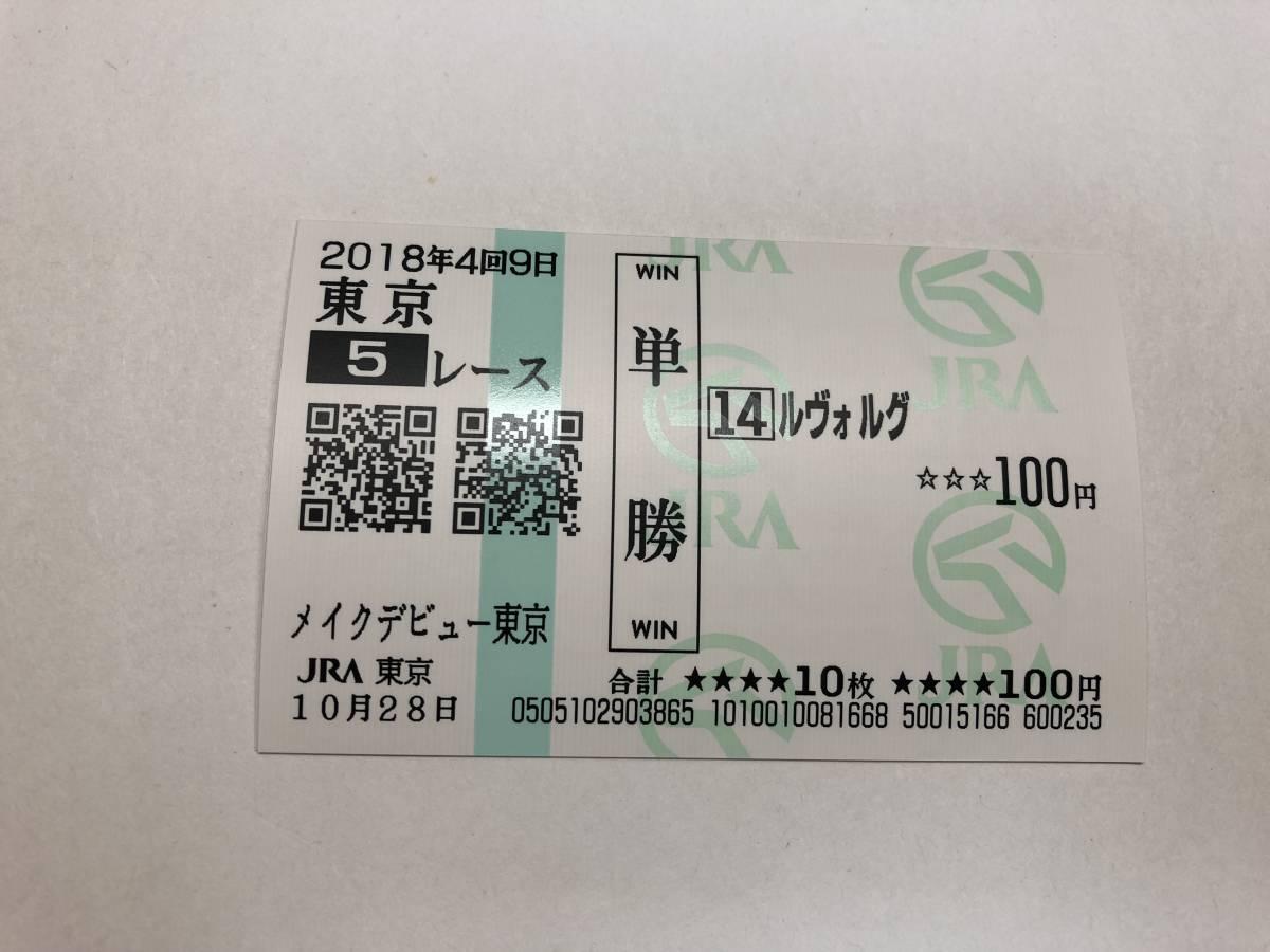 ルヴォルグ  「メイクデビュー東京」 数量3