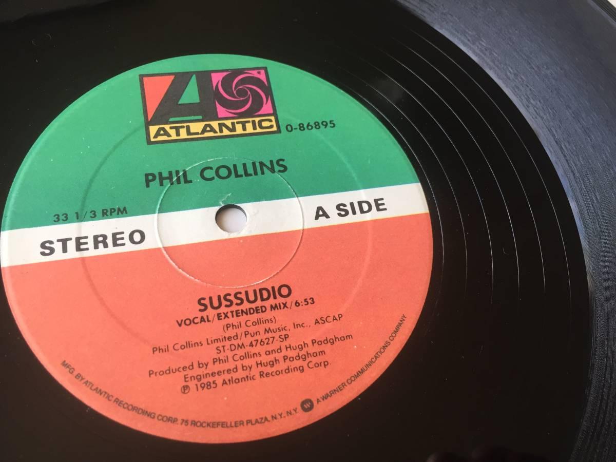 【送料無料】181002〇LP 12 Phil Collins - Sussudio THE MAN WITH THE HORN / フィルコリンズ / Atlantic - 0-86895 / 1985年 ユーロ POP_画像4