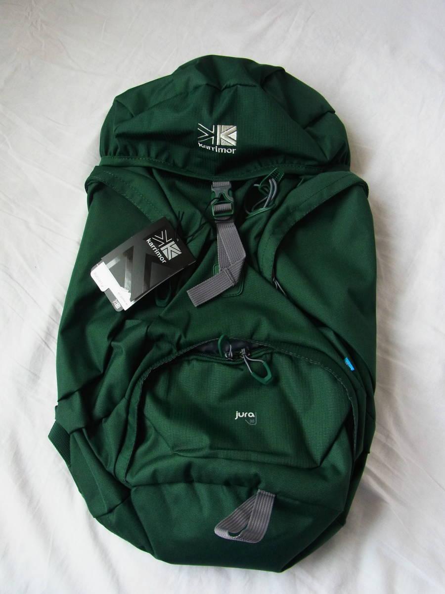 e285dc6a8c5 Britain Karrimor Karrimor Jura 35 green new goods unused hard-to-find rare -