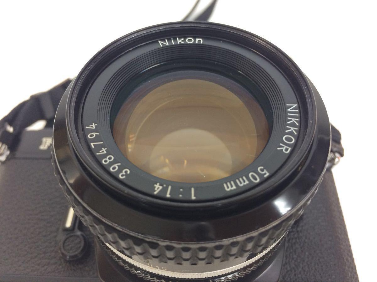 カメラ NIKON (ニコン) FM2 レンズ NIKKOR 50mm 1:1.4 / AF 70-210mm 1:4-5.6 ケース付き reref-d 1017_画像7