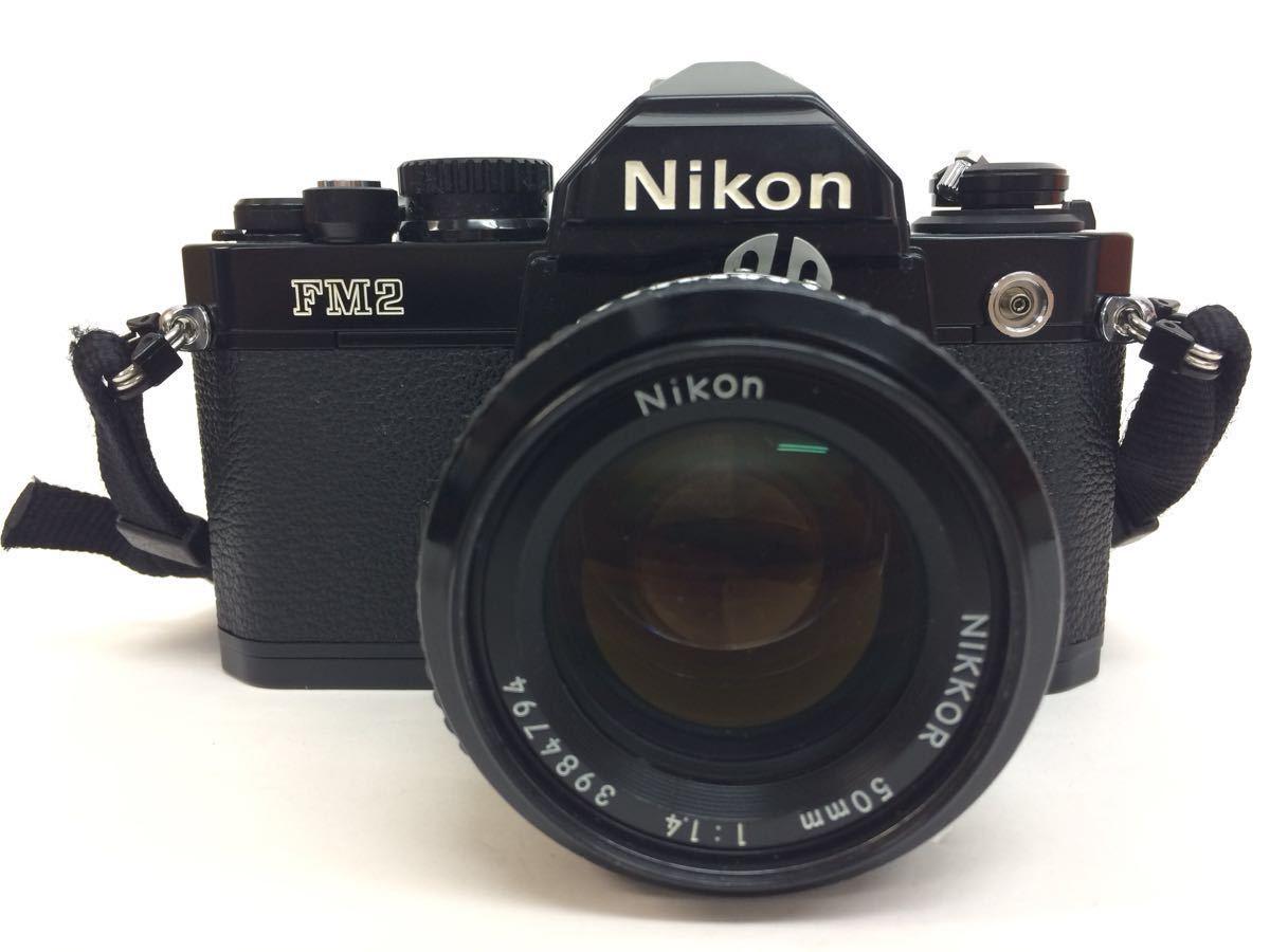 カメラ NIKON (ニコン) FM2 レンズ NIKKOR 50mm 1:1.4 / AF 70-210mm 1:4-5.6 ケース付き reref-d 1017_画像2