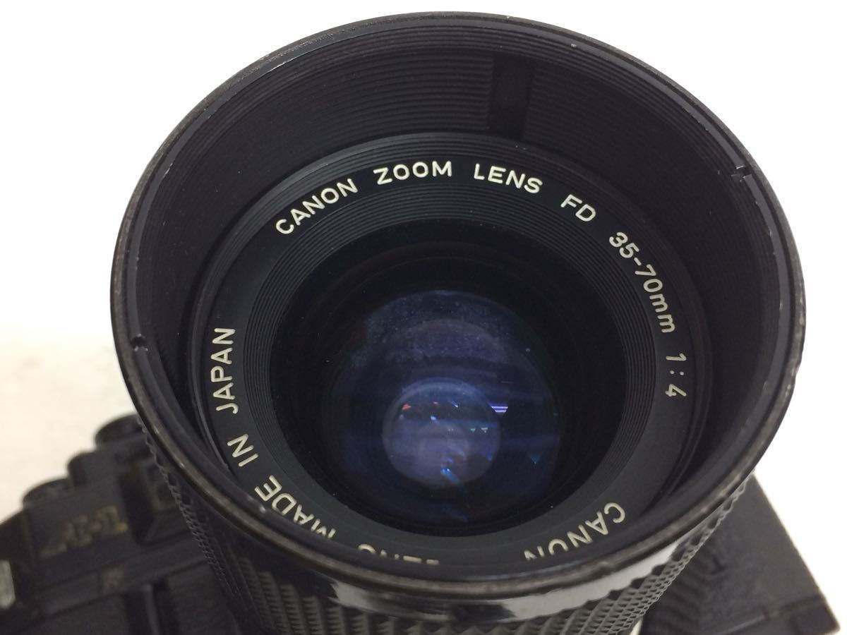 カメラ Canon (キャノン) A-1 レンズ ZOOM FD 35-70mm/50mm TAMRON 90mm テレプラス MC7 reref-d 1022_画像6
