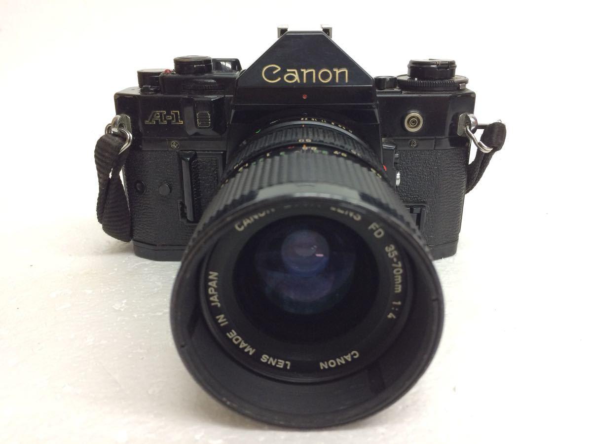 カメラ Canon (キャノン) A-1 レンズ ZOOM FD 35-70mm/50mm TAMRON 90mm テレプラス MC7 reref-d 1022_画像2