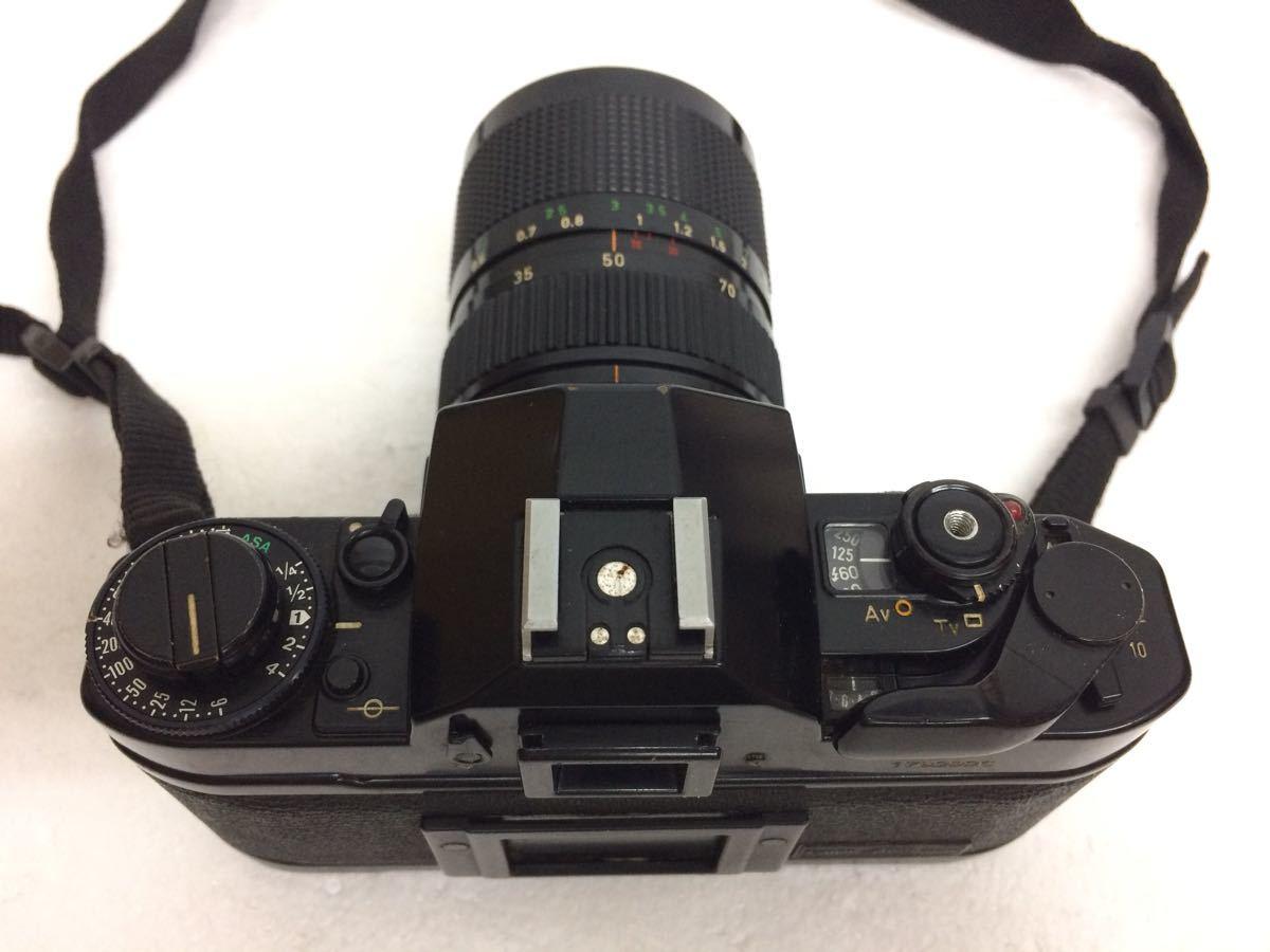 カメラ Canon (キャノン) A-1 レンズ ZOOM FD 35-70mm/50mm TAMRON 90mm テレプラス MC7 reref-d 1022_画像3