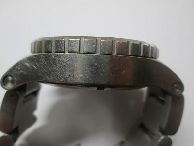 ニクソン 51-30 クロノ 銀・紺 メンズ 腕時計 動品 良品_画像4
