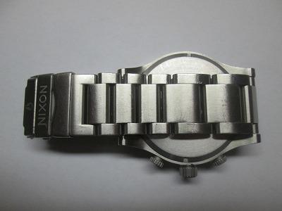 ニクソン 51-30 クロノ 銀・紺 メンズ 腕時計 動品 良品_画像5