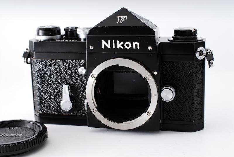 ★ニコンの名機・極上美品★NIKON ニコン F アイレベル ブラック ボディ 後期モデル 706万番台