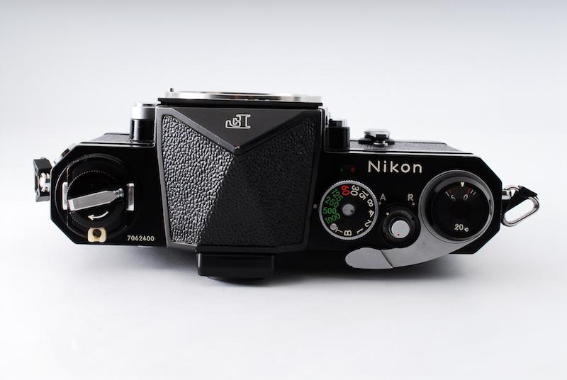 ★ニコンの名機・極上美品★NIKON ニコン F アイレベル ブラック ボディ 後期モデル 706万番台_画像3