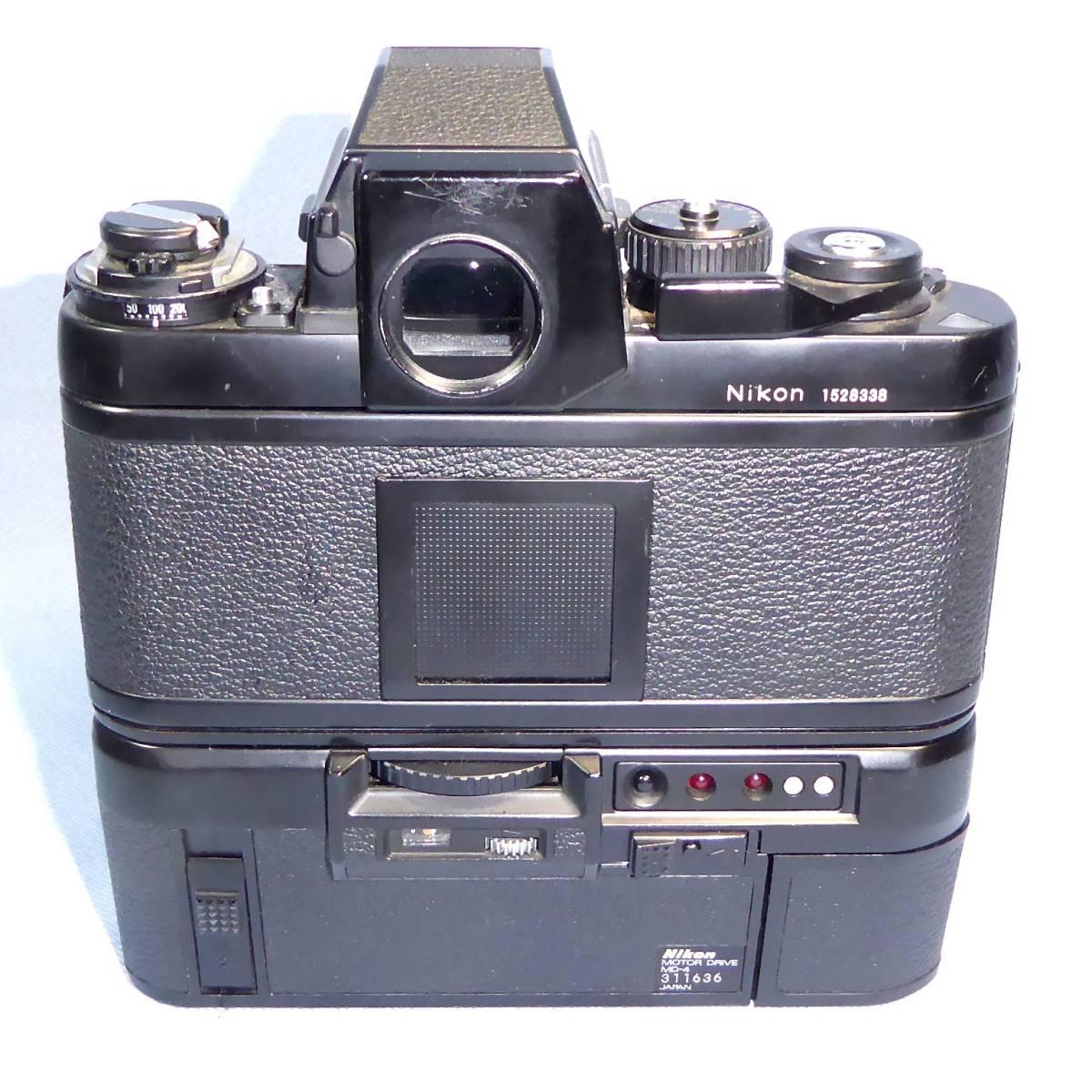 ★  綺麗  諸動作快調  ★   NIKON    F 3  HP   +   MD - 4   +   NIKKOR   50mm/F1.4   +  NIKON ストラップ _画像5