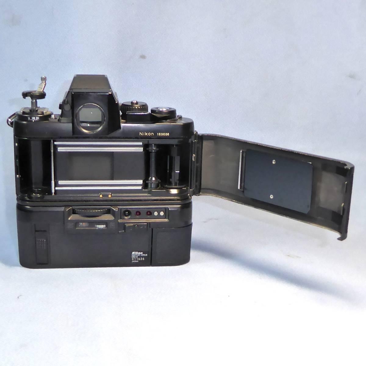 ★  綺麗  諸動作快調  ★   NIKON    F 3  HP   +   MD - 4   +   NIKKOR   50mm/F1.4   +  NIKON ストラップ _画像7