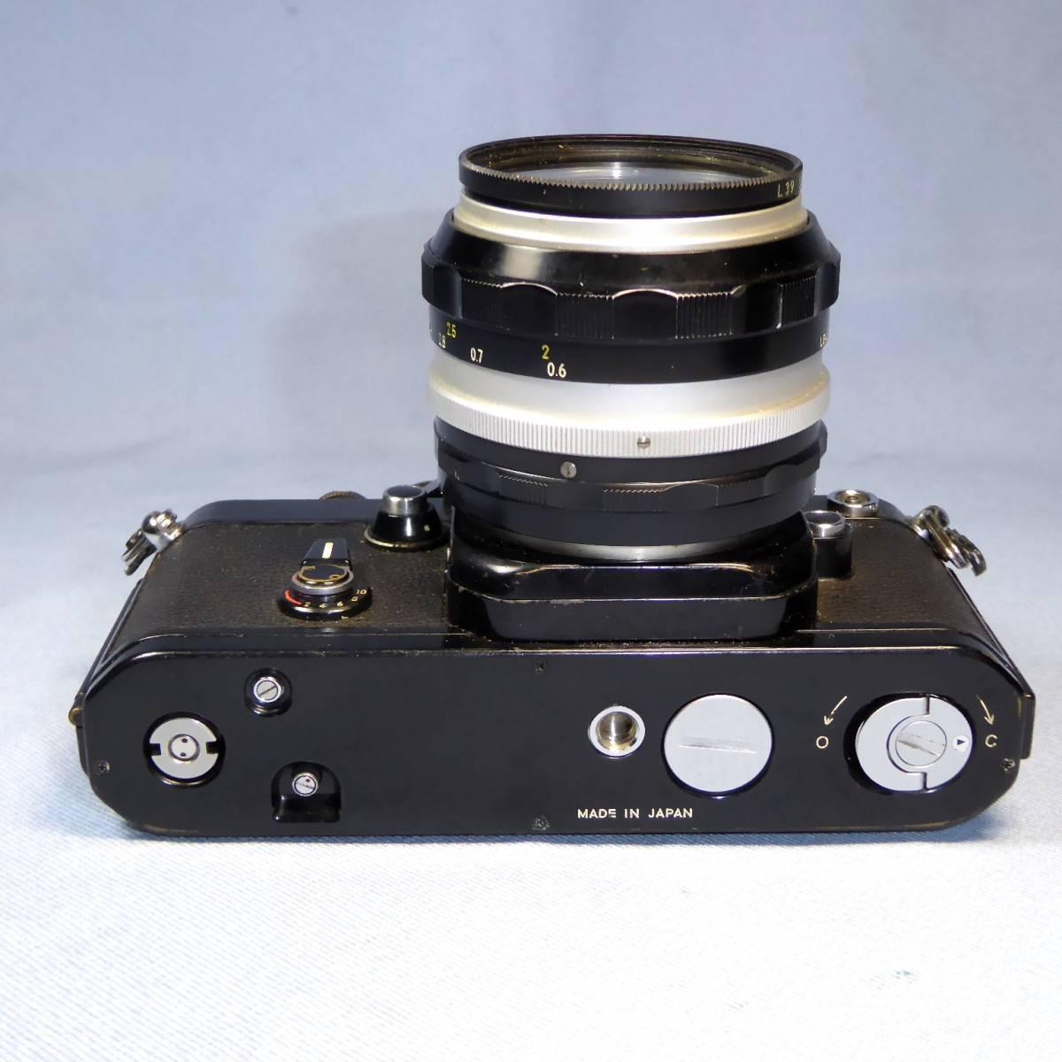 ★  NIKON      F 2   BL    +    AS ファインダー  +   NIKKOR-S  AUTO   50mm/F1.4 _画像6