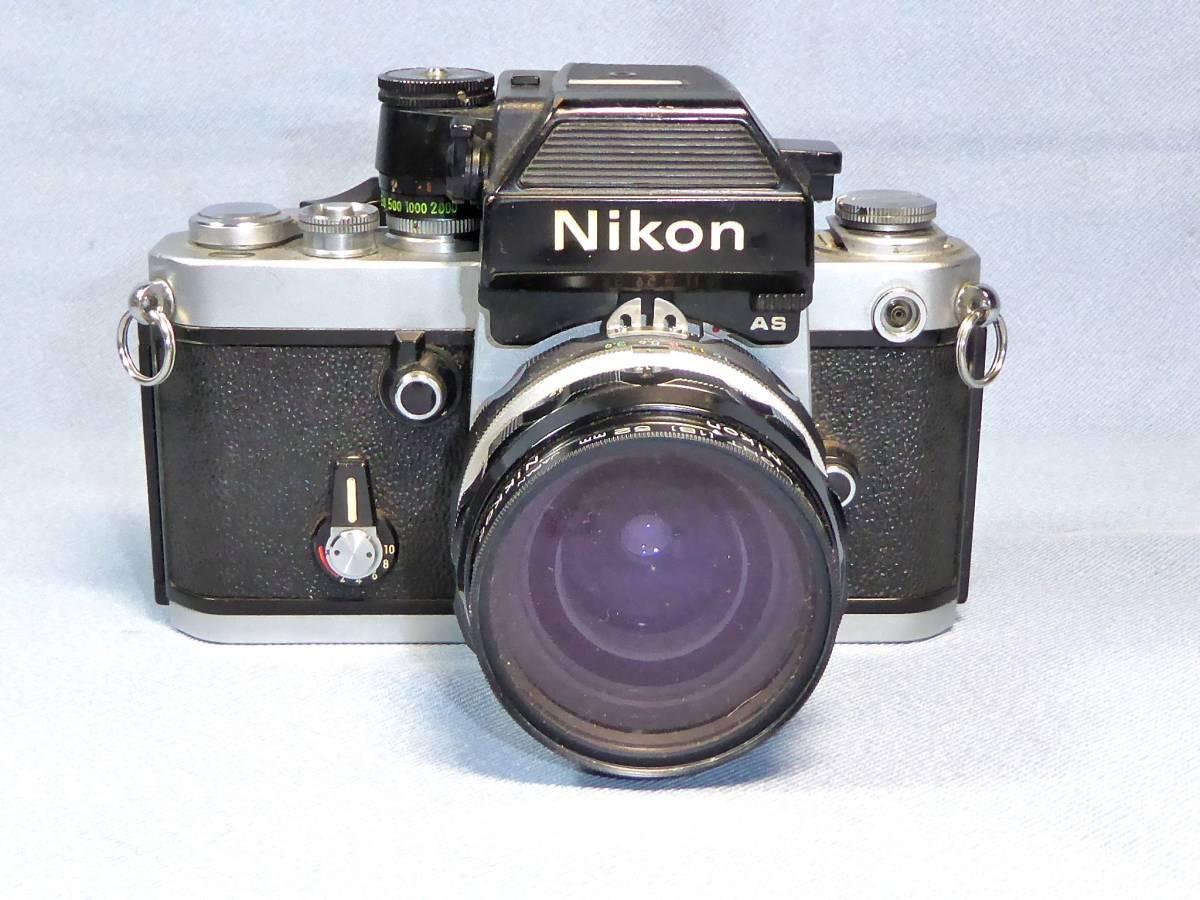 ★  綺麗  メーターOK   ★  NIKON    F 2   +  フォトミック  AS   +    NIKKOR-H  Auto   28mm/F3.5_画像2