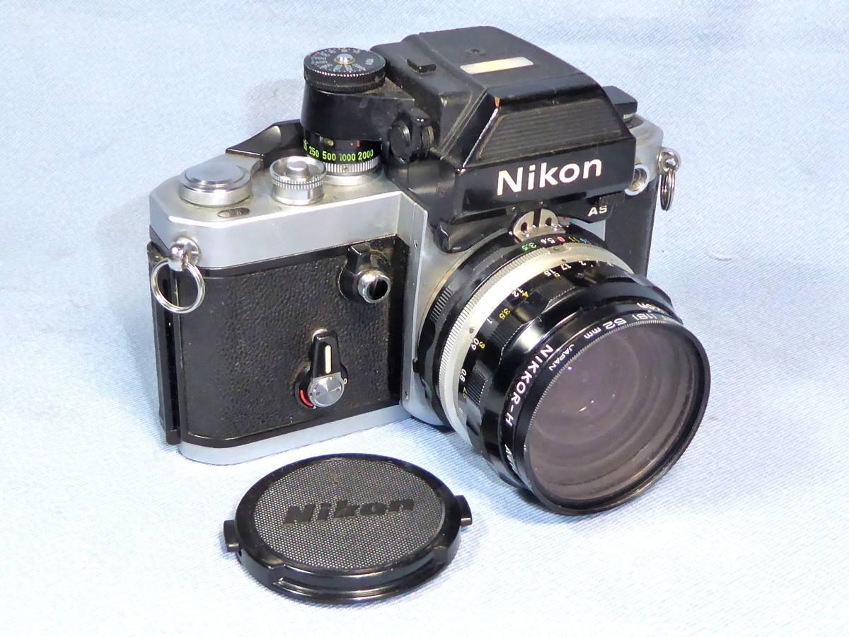 ★  綺麗  メーターOK   ★  NIKON    F 2   +  フォトミック  AS   +    NIKKOR-H  Auto   28mm/F3.5_画像3