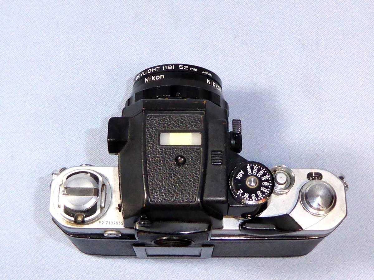 ★  綺麗  メーターOK   ★  NIKON    F 2   +  フォトミック  AS   +    NIKKOR-H  Auto   28mm/F3.5_画像4