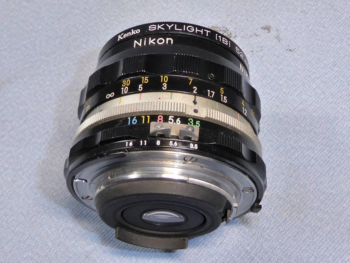 ★  綺麗  メーターOK   ★  NIKON    F 2   +  フォトミック  AS   +    NIKKOR-H  Auto   28mm/F3.5_画像9