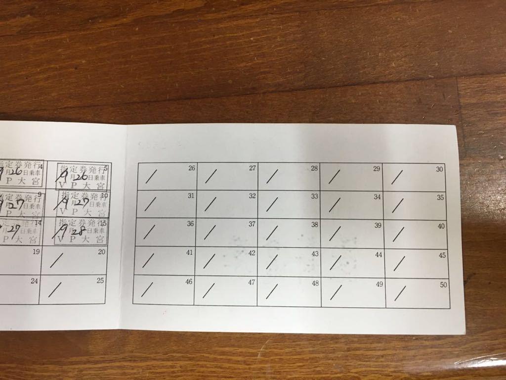 退職記念乗車券 JR切符_画像3