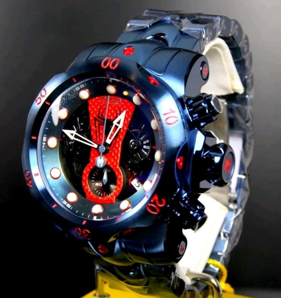 優質商品◆Invicta◆MARVEL蜘蛛俠◆1000M防水◆正常價格約29萬日元◆Invictor它也被推薦給潛水艇愛好者。 編號:338571105