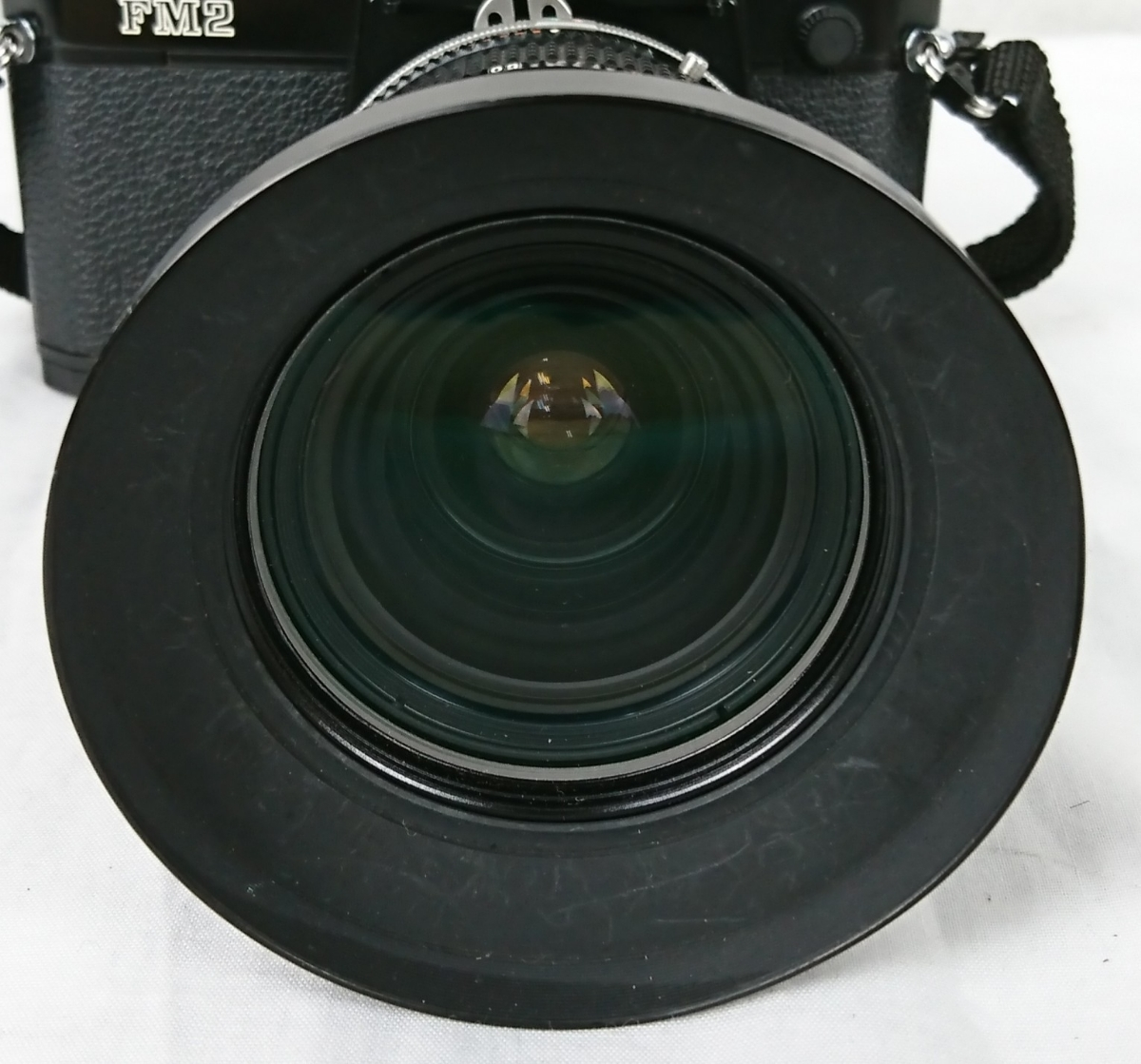 【GK-201】 Nikon ニコン カメラ FM2 レンズ Zoom-NIKKOR 28~85mm 1:3.5~4.5 黒色 black ブラックボディー N7763716 MFカメラ _画像2