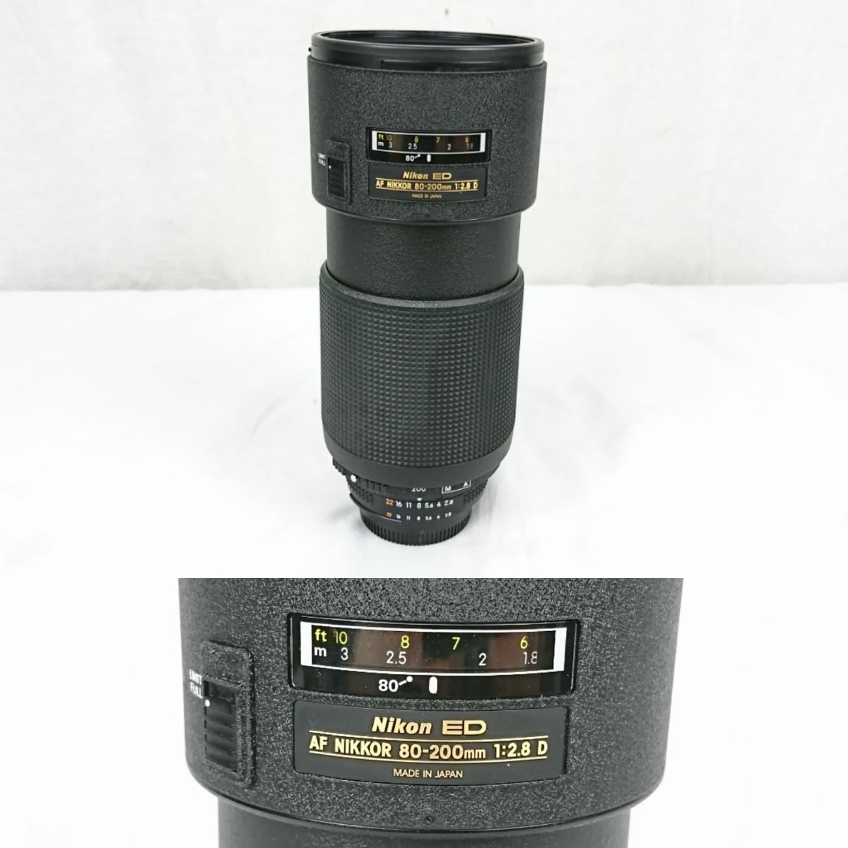 【GK-203】 Nikon ニコン カメラ F4 レンズ AF オートフォーカス Nikon ED AF NIKKOR 80-200mm AF NIKKOR 70-210mm NIKKOR 28-85mm_画像5