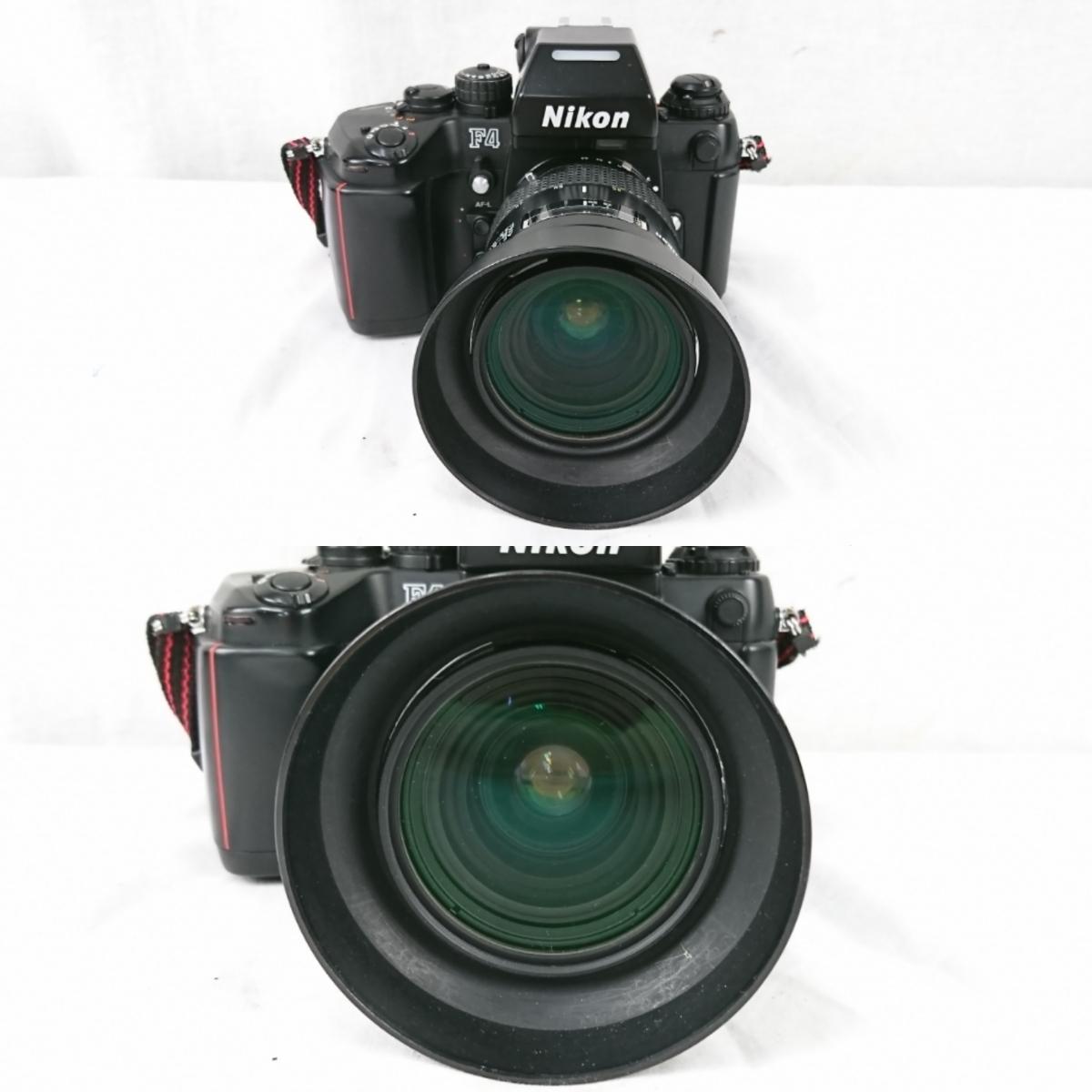 【GK-203】 Nikon ニコン カメラ F4 レンズ AF オートフォーカス Nikon ED AF NIKKOR 80-200mm AF NIKKOR 70-210mm NIKKOR 28-85mm_画像2