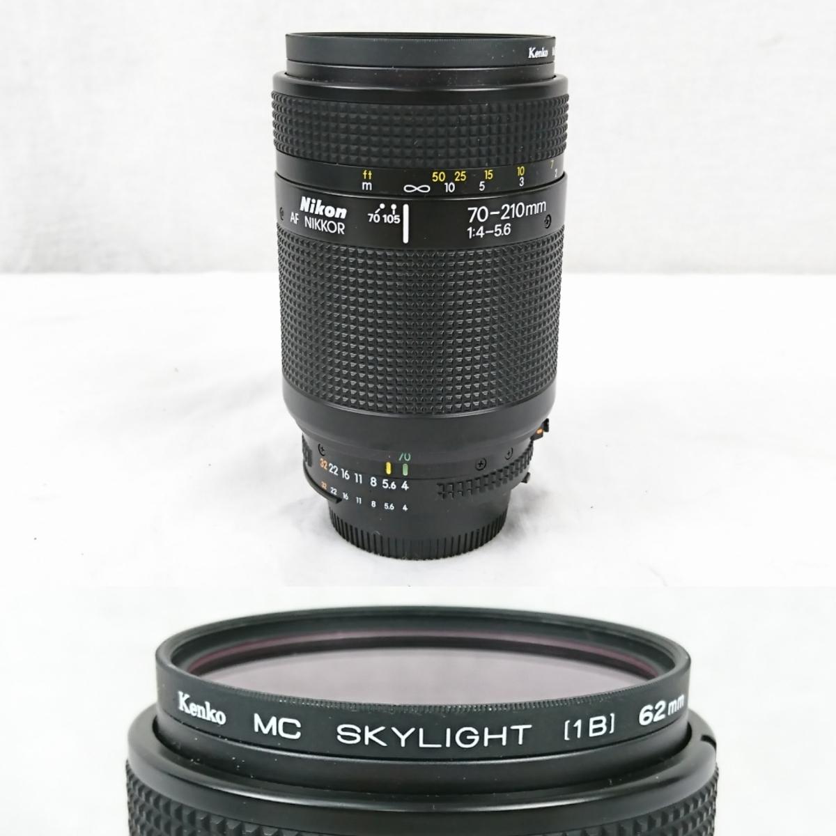 【GK-203】 Nikon ニコン カメラ F4 レンズ AF オートフォーカス Nikon ED AF NIKKOR 80-200mm AF NIKKOR 70-210mm NIKKOR 28-85mm_画像7