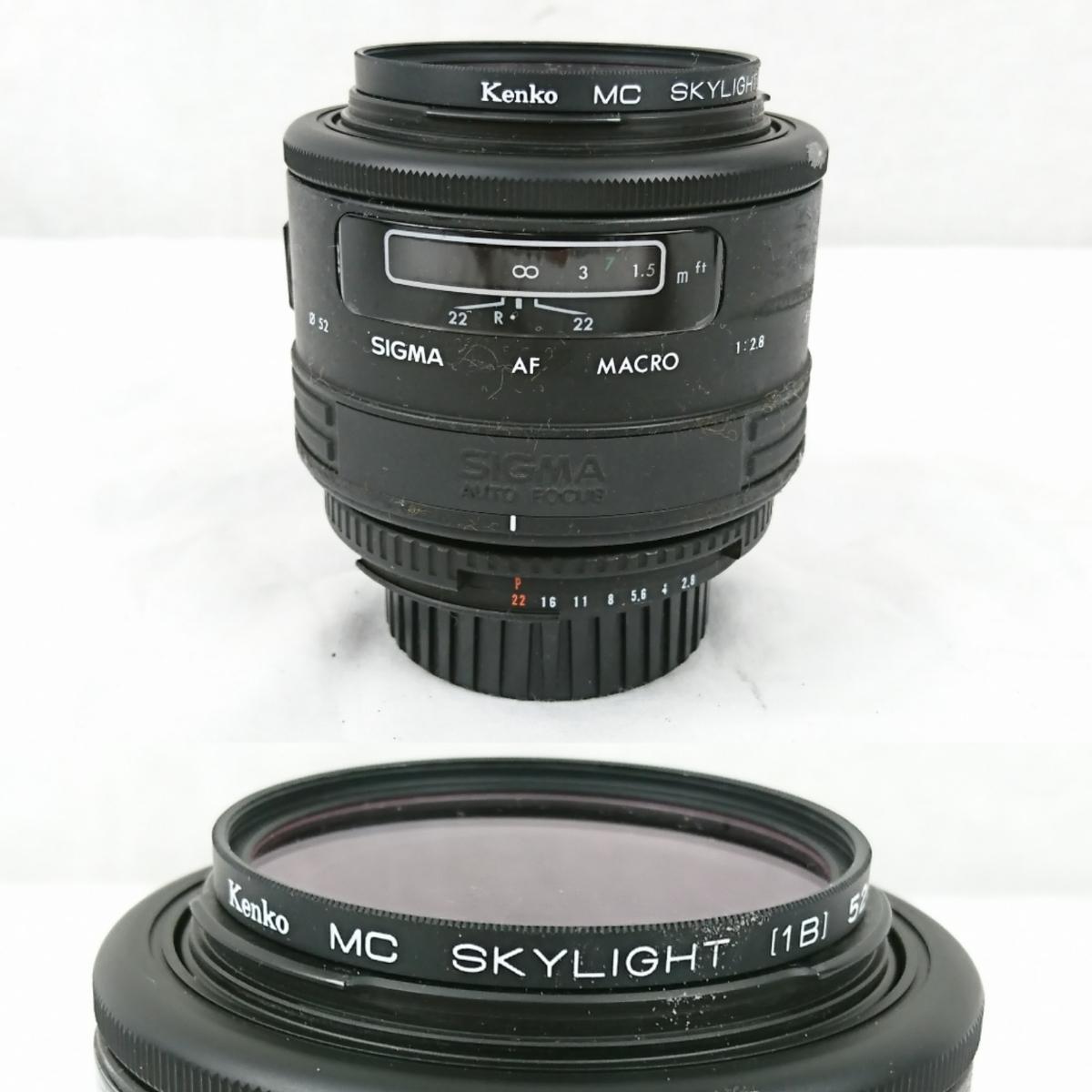 【GK-203】 Nikon ニコン カメラ F4 レンズ AF オートフォーカス Nikon ED AF NIKKOR 80-200mm AF NIKKOR 70-210mm NIKKOR 28-85mm_画像9