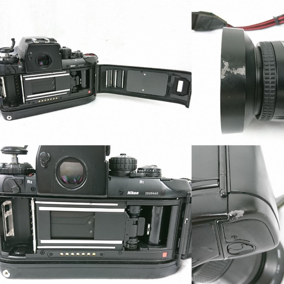 【GK-203】 Nikon ニコン カメラ F4 レンズ AF オートフォーカス Nikon ED AF NIKKOR 80-200mm AF NIKKOR 70-210mm NIKKOR 28-85mm_画像4