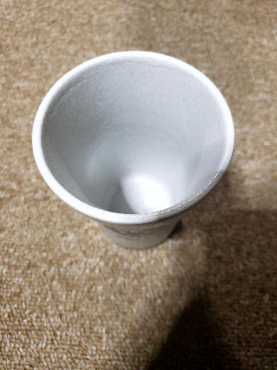 新品 警視庁 限定 未使用品 レア品 警察グッズ 陶器グラス 白 _画像2