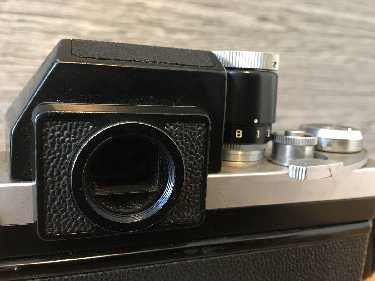 Nikon F マニュアル カメラ ニコン 昭和 レトロ_画像5