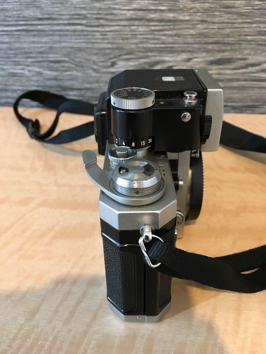 Nikon F マニュアル カメラ ニコン 昭和 レトロ_画像6