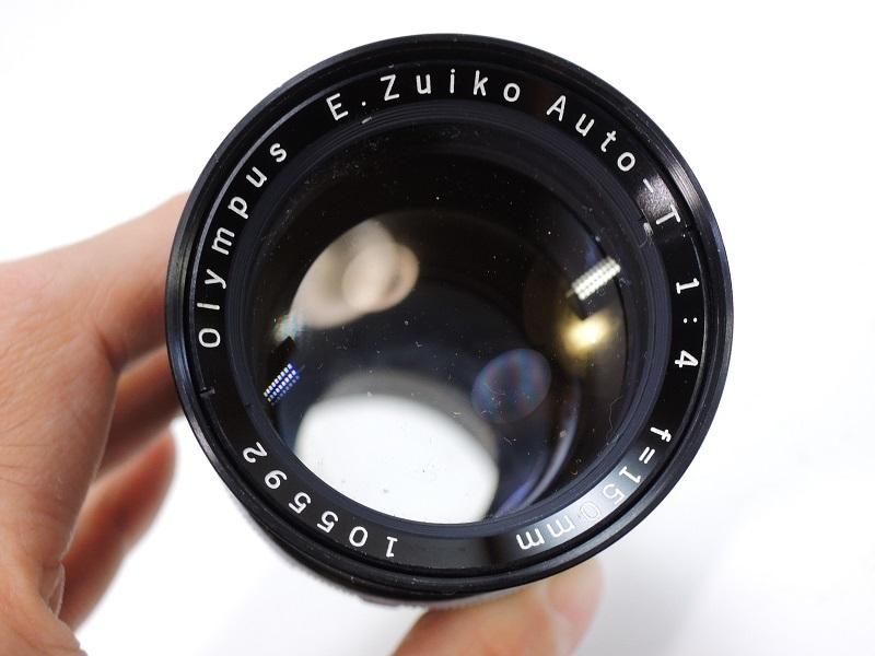 OLYMPUS PEN F オリンパスペン F.Zuiko Auto-S 38mm/f1.8 & E.Zuiko Auto-T 150mm/f4 純正キャップ付θ_画像8