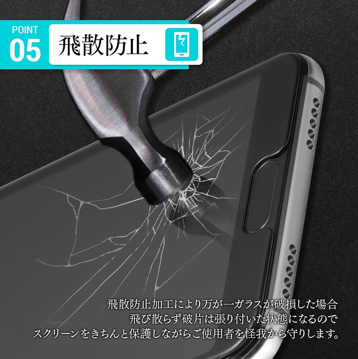 【送料無料】Huawei P20 強化ガラスフィルム 液晶保護 フィルム全面保護 超薄5D強化ガラス 硬度9H 高透過率 飛散防止 指紋防止]2色選】_画像4