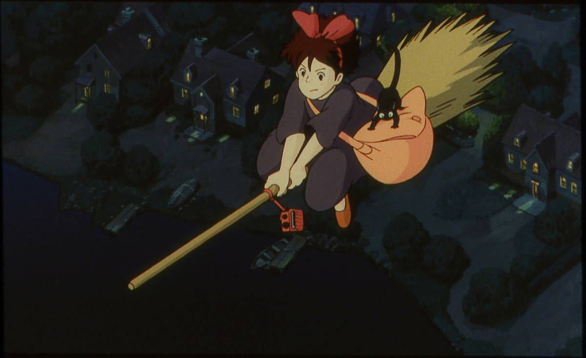 魔女の宅急便 キキ ジジ 夜 入場券 フィルム ジブリ美術館