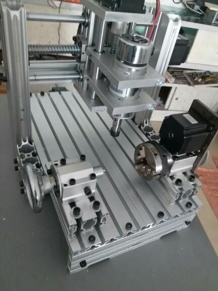 卸売り☆最新版 CNC3020 4軸 フライス盤 nc 旋盤