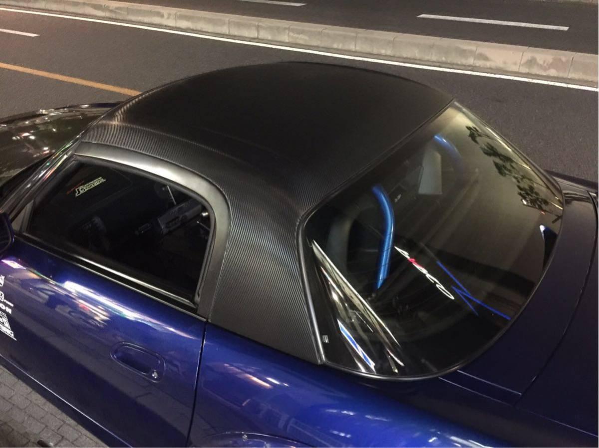 ホンダ S2000 AP1 AP2 純正オプション ハードトップ 絶版 美品 カーボンシート加工済み 車体側の固定ブラケット付き