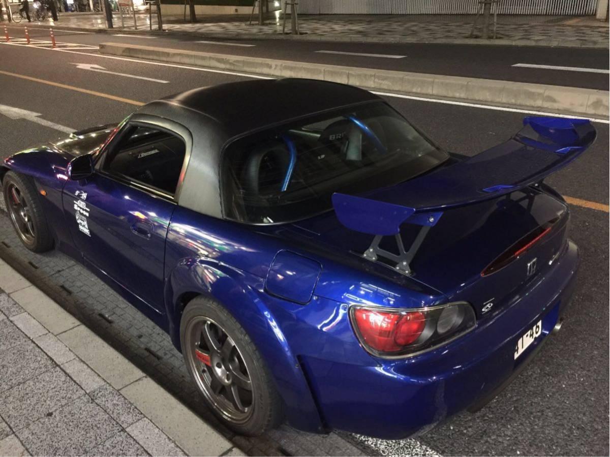 ホンダ S2000 AP1 AP2 純正オプション ハードトップ 絶版 美品 カーボンシート加工済み 車体側の固定ブラケット付き_画像2