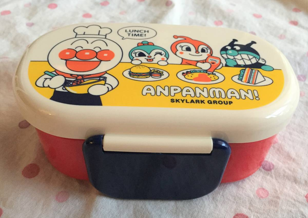 未使用■アンパンマン×すかいらーく オリジナル2段弁当箱◆ランチボックス◆非売品_画像3