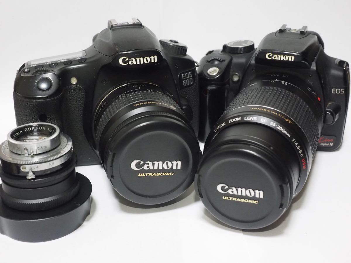 Canon EOS 60D EOS kiss N まとめて ジャンク
