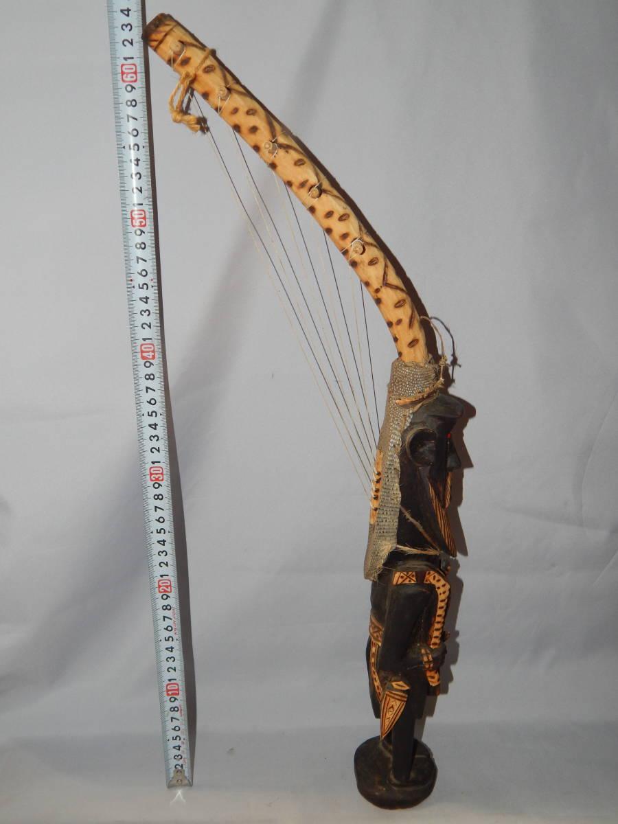 解体家屋から、アフリカの民族楽器??・画像ご参照