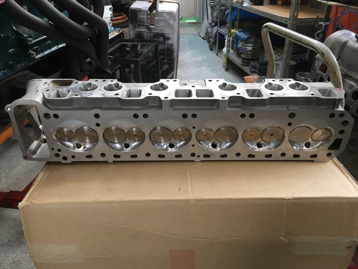 日産 L型 N42ヘッド ビックバルブ付き ハコスカ、ケンメリ、ジャパン、ローレルなど