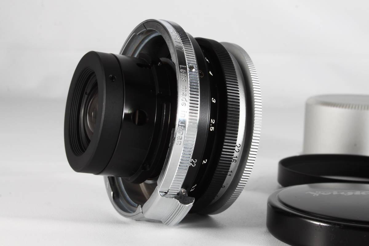 ★驚愕の新品級美観★VOIGTLANDER SC SKOPAR 35mm F2.5 Sマウント ★フード付き,完動品★フォクトレンダー #112_画像4