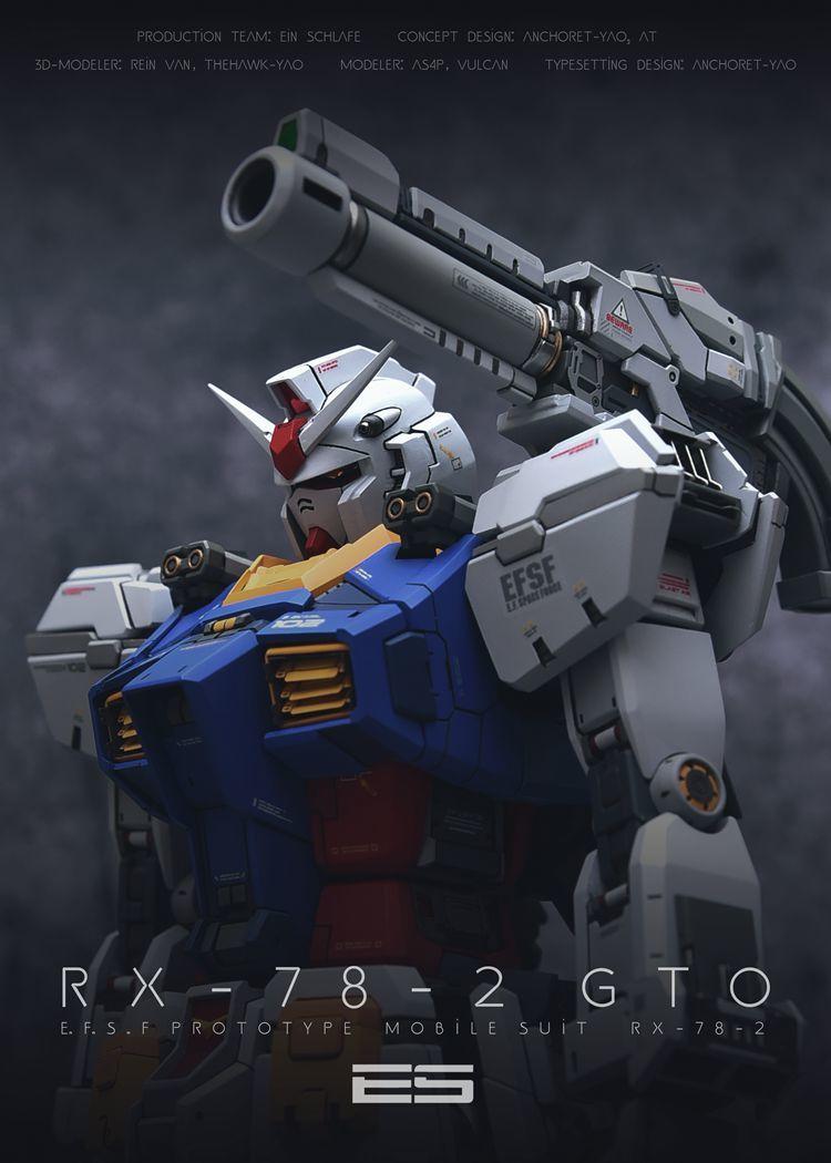 MG 1/100 Gundam ji Origin modified parts inside sack