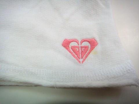 AX39 【訳あり】 ミニスカート ロキシー ROXY ミニスカート 未使用品 材料 コットン100% 白 サイズL _画像6