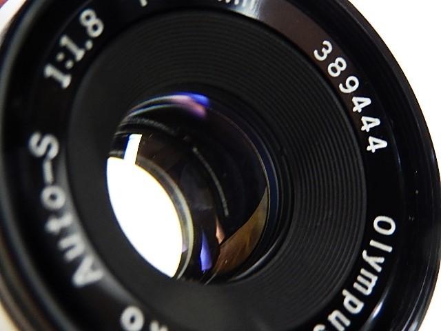 ★綺麗 オリンパス ペンFT 38mm 1:1.8 露出計作動 モルト交換・点検清掃・作動確認済 _画像7