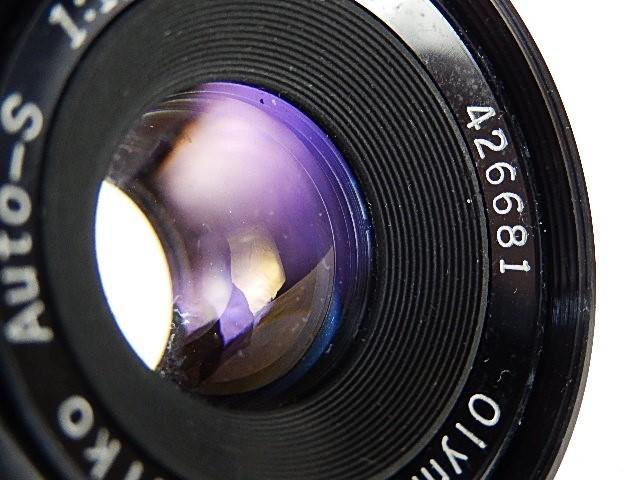 ★良品Ⅱ オリンパス ペンFT 38mm 1:1.8 露出計作動OK モルト交換点検清掃・作動確認済_画像7
