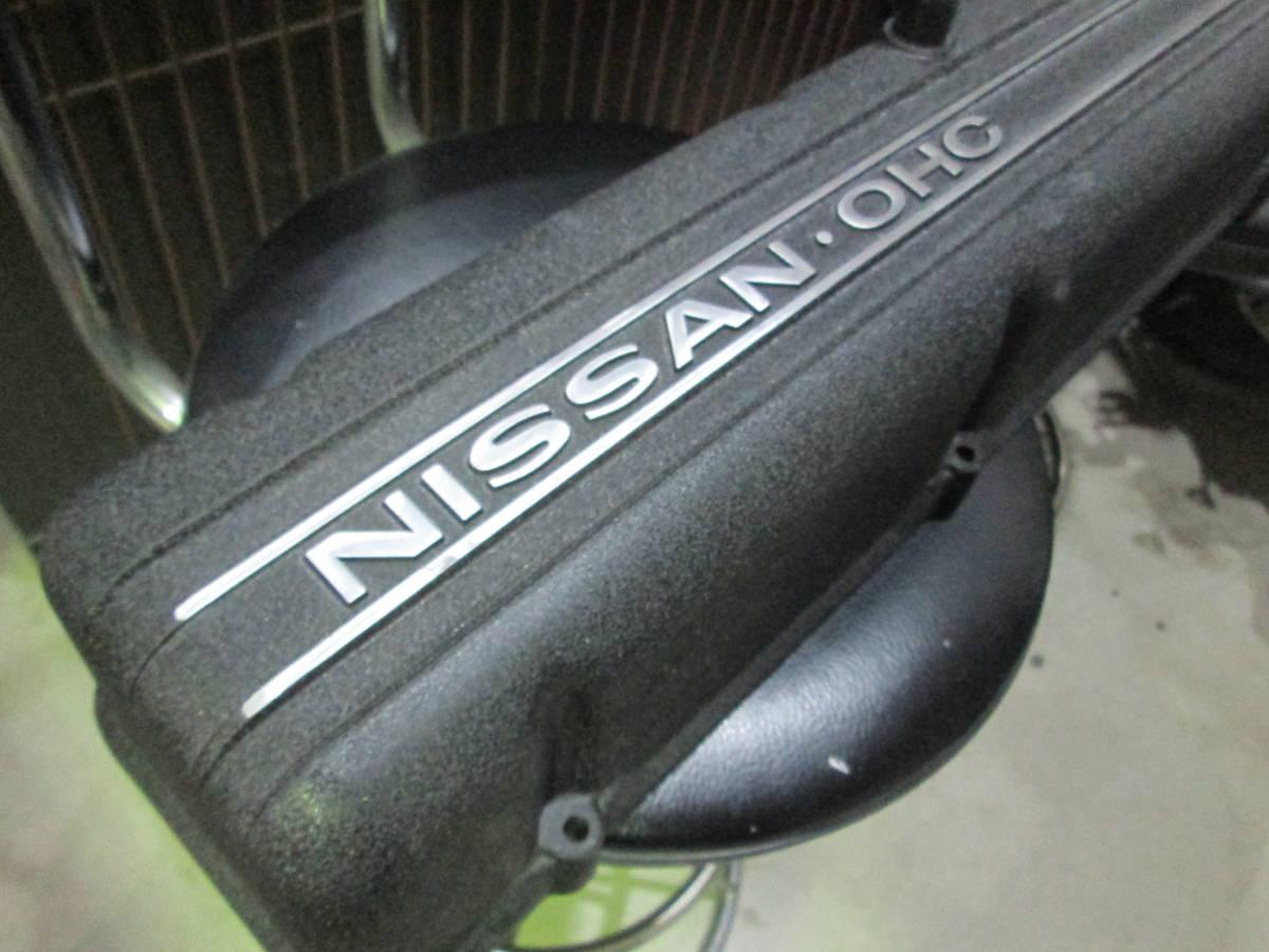 L6ヘッドカバー タペットカバー L28 L20 L型 ハコスカ ケンメリ ジャパン S30Z ブタケツ ローレル サメブル_画像3
