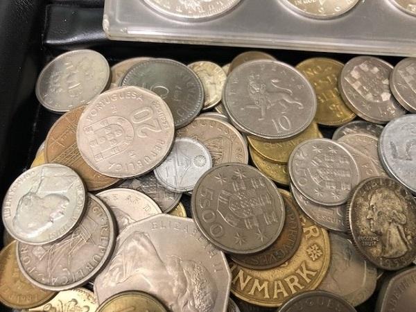 ★外国銭 おまとめ リバティー モルガン等 950g以上_画像4