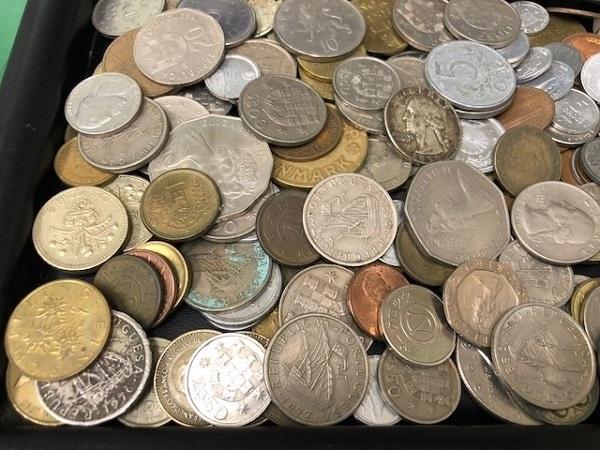★外国銭 おまとめ リバティー モルガン等 950g以上_画像7